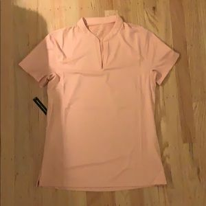 Pink Nike Golf Shirt